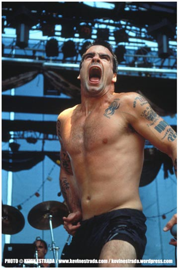 Henry Rollins Rollins Band Lollapalooza '91